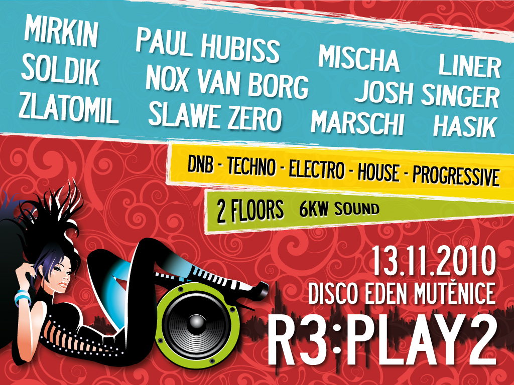 R3PLAY 2 - flyer