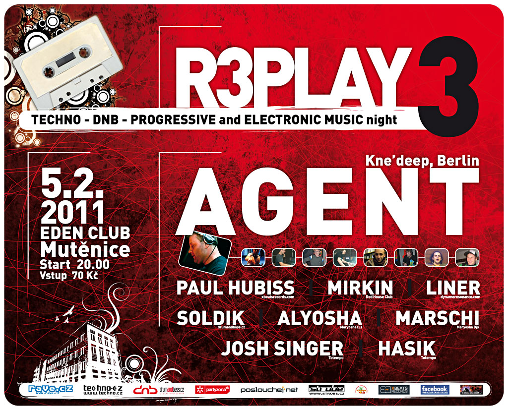 R3PLAY3 - flyer