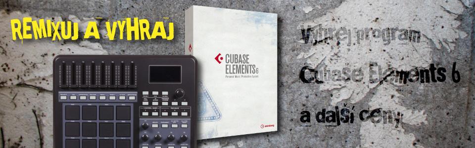 Vyhrej program Cubase Elements 6 a další ceny