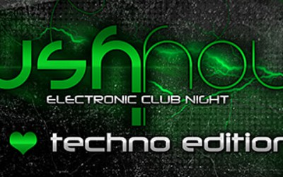 RUSH HOUR – I ♥ Techno Edition