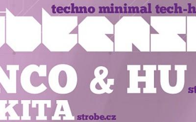 DJs BENCO a HU na dalším dílu SUBTENSION v Kyjově