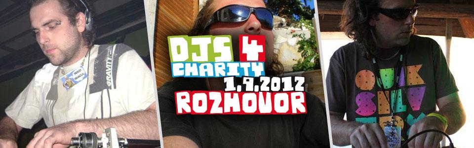 Josh Singer v rozhovoru k charitativnímu festivalu Djs 4 Charity