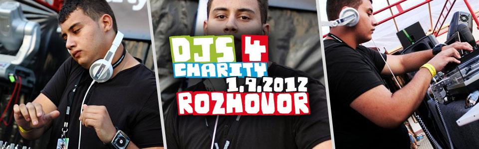 Leem v rozhovoru k charitativnímu festivalu Djs 4 Charity