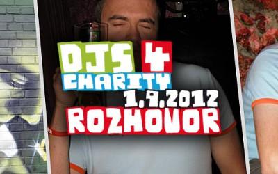 Luis v rozhovoru k charitativnímu festivalu Djs 4 Charity
