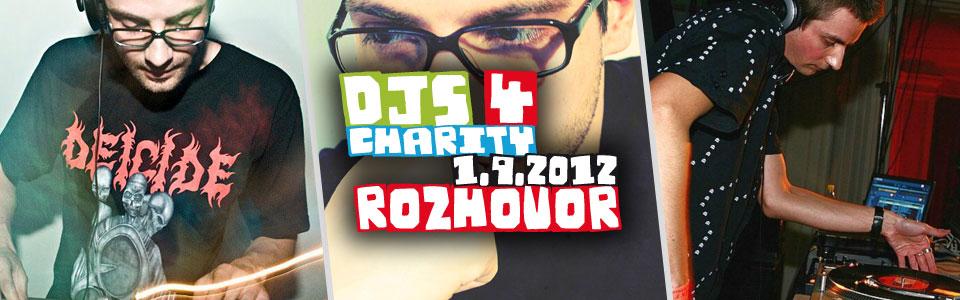 Paul Hawk v rozhovoru k charitativnímu festivalu Djs 4 Charity