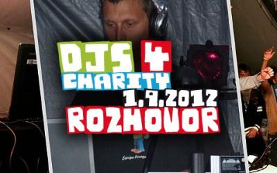 Ronnie v rozhovoru k charitativnímu festivalu Djs 4 Charity