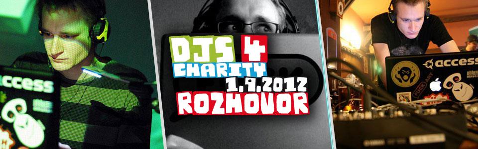 Zlatomil v rozhovoru k charitativnímu festivalu Djs 4 Charity