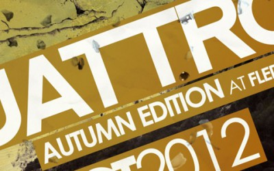 Podzimní vydání techno a house party Quattro je zpět v klubu Fléda!