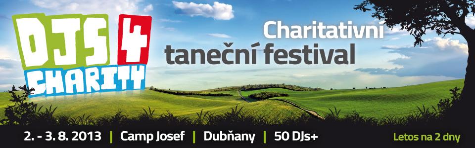 DJs 4 Charity 2013 – I letos se bude hrát a tančit pro dobrou věc