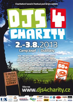 DJs 4 Charity 2013 - flyer