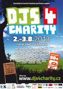DJs 4 Charity 2013 - flyer