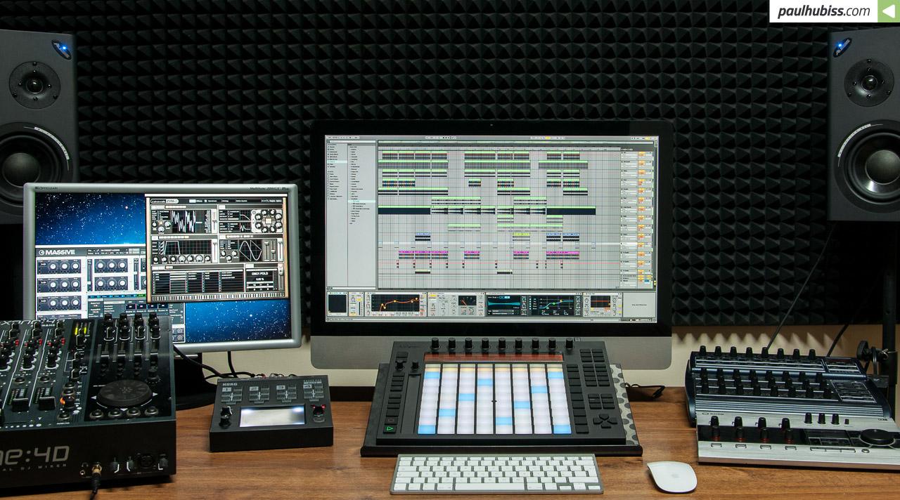 S programem Ableton Live 9 se dá propojit ledacos co a pak začíná ta pravá zábava.