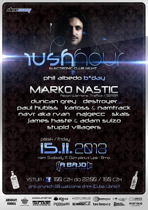 Rush Hour - 15.11.2013