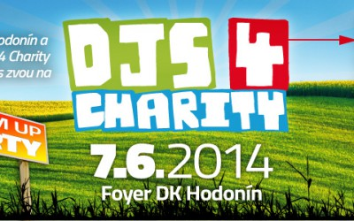 DJs 4 Charity 2014 – Warm Up party v DK Hodonín