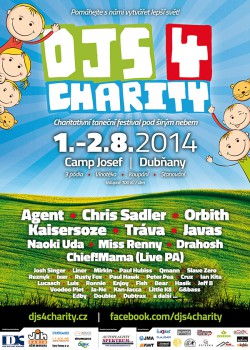 DJs 4 Charity 2014 - Plakat